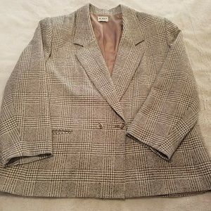 Vintage Koret Womens Union Made Sz 24W Blazer 759